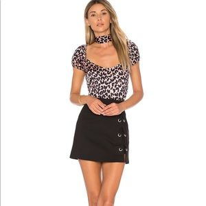 By the Way Tori Lace Up Skirt. Size XS